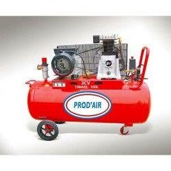 PROD'AIR Compresseur d'air 100L 3CV bicylindre