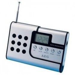 AEG DRR 4107 Radio Portable Détachable - Ecouteurs Inclus