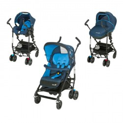 SAFETY 1ST Poussette Combinée Trio Easy Way Blue Mood