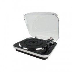KONIG HAV-TT20USB Tourne disque USB avec encodage MP3 - Noir