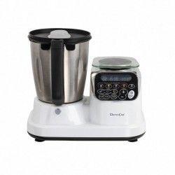 DOMOCLIP DOP166 Robot culinaire chauffant - Blanc