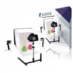 KONIG KN-STUDIO10N Mini Studio Photo pliable 40 x 40 x 40 cm