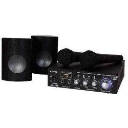BOOST KS20 Kit Karaoké 2 micros 100W avec amplificateur