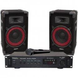 IBIZA DJ150 Kit de sonorisation Home Disco