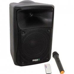 """IBIZA SOUND MOV8-CD - Systeme sono portable autonome avec cd, usb, sd, bluetooth et micro vhf 8""""/ 20cm 150W"""