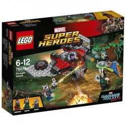 LEGO Super Heroes 76079 L'Attaque du Ravageur