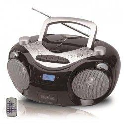 SCHNEIDER SC400BBX Radio K7 CD MP3 Télécommande Boomblaster