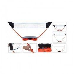 XQ Max Filet multisport 3-en-1 transportable - Badminton / Tennis / Volley ball