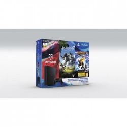 Nouvelle PS4 Slim 1 To + 3 Jeux : Horizon : Zero Dawn + Ratchet & Clank + Drive Club