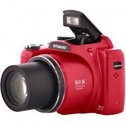 POLAROID IX 6038 Appareil photo numérique Bridge - 20 Mpx - Zoom optique x60 - Rouge