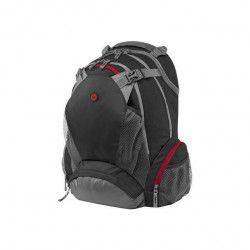 HP Sac a dos pour ordinateur portable - Full Featured Backpack - 17,3` - Noir / Gris / Rouge