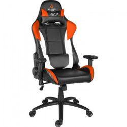 ALPHA GAMER Siege Gamer Premium Orion V2 - Noir/ Blanc / Orange