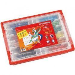 STABILO Trio A-Z - Schoolpack - lot de 144 feutres de coloriage