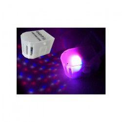 IBIZA LIGHT DERBY-MINI-CLEAR Effet de lumiere mini derby a LED rvbb