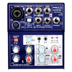 BST MX35USB Mini Mixer Avec Interface USB