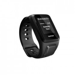TOMTOM Montre Sport Spark Music - Montre Fitness GPS - Bracelet Fin Noir