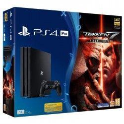 PS4 Pro 1 To + Tekken 7 Deluxe Edition Jeu PS4