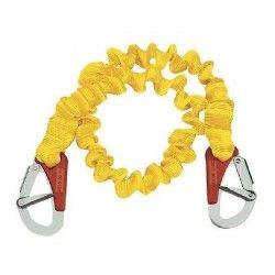 PLASTIMO Longe simple elastique - 2 mousquetons - Double sécurité