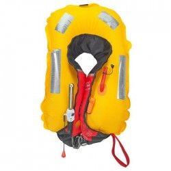 PLASTIMO Gilet de Sauvetage Pilot 165 avec harnais - Rouge