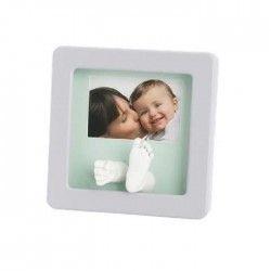 Baby Art MY BABY SCULPTURE - cadre empreinte 3D - Blanc
