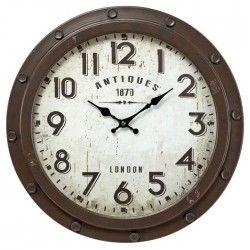 IMAGINE Horloge Antique en métal Diametre 47 cm
