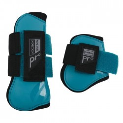NORTON Guetres et protege-boulets Pro pour poney - Turquoise