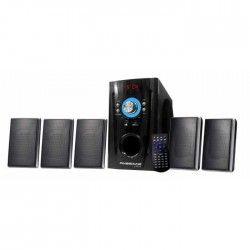 FINESOUND HC2350 Home cinéma 5 Enceintes + caisson de basses Bluetooth - 240 W - Noir