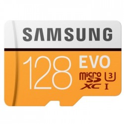 Samsung carte Micro SD Adapt SD Evo 128Go