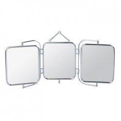 GERSON Miroir triptyque a suspendre - 69x9 cm