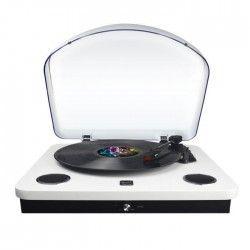 DUAL DL-P09W Platine Vinyle Bluetooth avec fonction encodeur - Blanc laqué