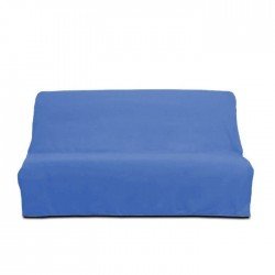 SOLEIL D`OCRE Housse clic-clac en coton Panama - Bleu