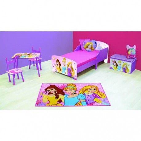 Princesses chambre enfant ensemble 6 pieces for Ensemble chambre enfant