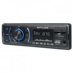 MUSE Autoradio M-090 MR Tuner PLL FM RDS USB Lecteur Carte AUX 4 x 20 W
