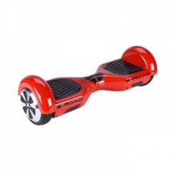 E-ROAD Hoverboard 6,5` Rouge Bluetooth avec Sac