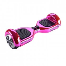 E-ROAD Hoverboard 6,5` Rose Chrome Bluetooth avec Sac