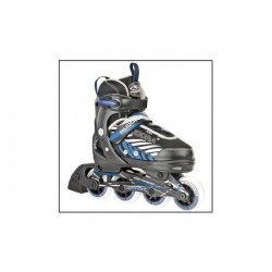 Hudora 28240 «Inline skates» pour enfants LEON, (37-40)