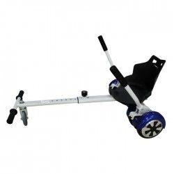 TAAGWAY Kit Kart A1 pour Gyropode 6,5` - Blanc - Charge Max : 120kg
