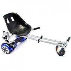 TAAGWAY Kit Kart Cross A5 avec suspension pour Gyropode 6,5`, 8` et 10` - Blanc - Charge Max : 120kg