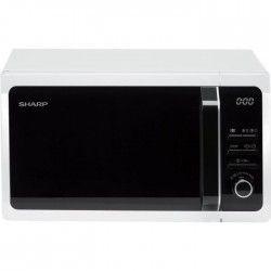 SHARP R-243WW Micro ondes monofonction blanc - 20 L - 800 W - Pose libre