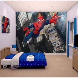 SPIDERMAN Papier peint enfant Fresque Murale Décorative