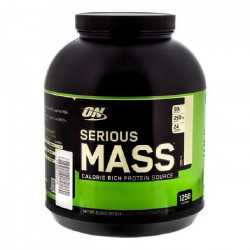OPTIMUM NUTRITION Pot Serious Mass Chocolat Beurre de cacahuete - 2,72kg