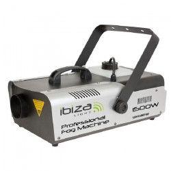 IBIZA LIGHT LSM1500PRO Machine a fumée professionnelle programmable avec DMX - 1500W