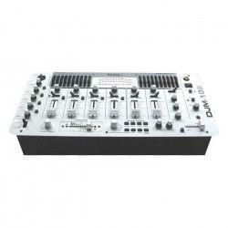 IBIZA DJM102-WH Table de mixage 19`` 12E/6C - Blanc