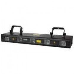 IBIZA LIGHT LAS560RGBYP-5 Laser 5 tetes RVBJP avec DMX - 560mW