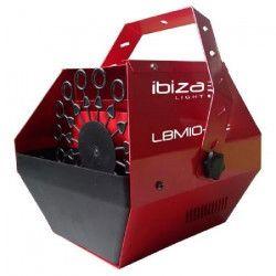 IBIZA LIGHT LBM10-RE Machine a bulles portable - Rouge