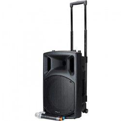 BST NOMAD12UHF Sono active nomade avec lecteur cd, bluetooth & 2 microphones uhf12?/30cm ? 400w
