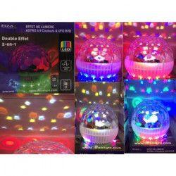 IBIZA LIGHT ASTRO-UFO9 Effet de lumiere astro a 9 couleurs & ufo rvb