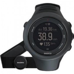 SUUNTO Montre de sport AMBIT 3 SPORT BLACK HR - Adulte
