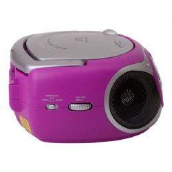 TREVI 0051207 Radio CD Portable - 3,5 mm - Fuchsia