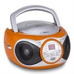 TREVI 0051209 Radio CD Portable - 3,5 mm - Orange